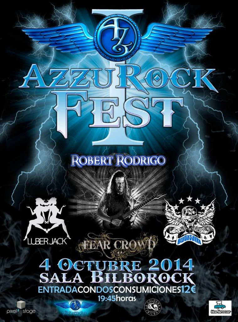 cartel AzzuRock 2014